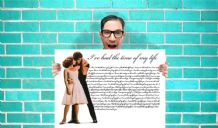 Dirty Dancing I've had the time of my life Art - Wall Art Print Poster Pick A Size - Musical Art Geekery